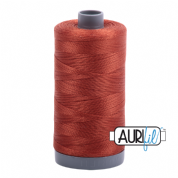 Aurifil 28 Cotton Thread - 2350 (Rusty Brown)